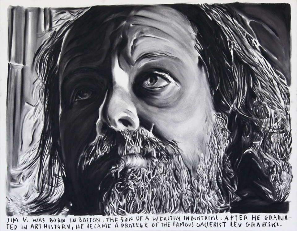 RINUS VAN DE VELDE, Jim V. was born in Boston, the son of a wealthy industrial. After he graduated in art history, he became a protégé of famous gallerist Lev Grabski., 2013