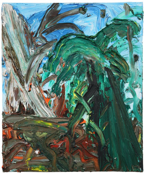 ARMEN ELOYAN, Landscapepainting III, 2013