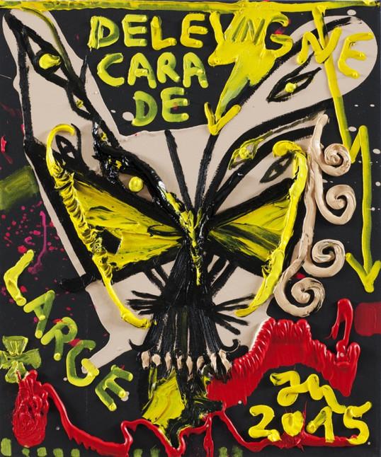 JONATHAN MEESE, CARA DE LARGE III, 2015