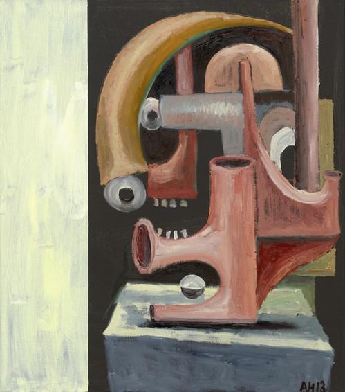 ANTON HENNING, Portrait No. 375, 2013