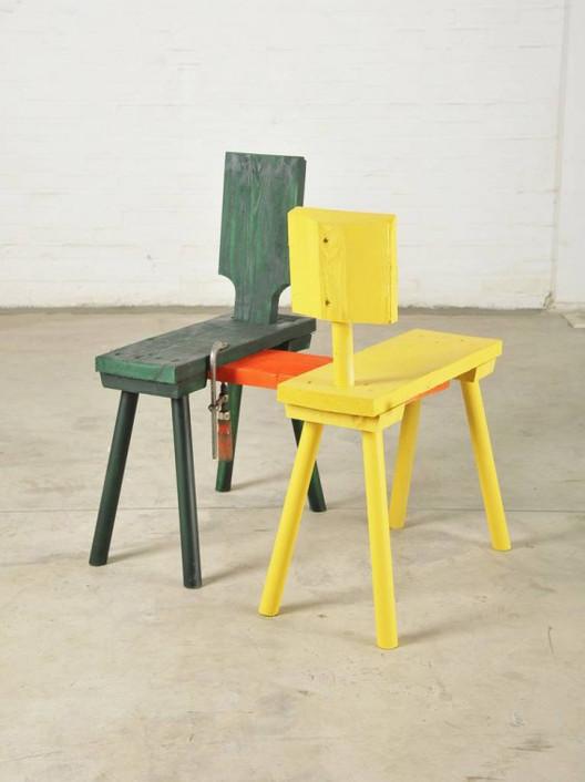 ATELIER  VAN LIESHOUT, Kissing Chair, 2012