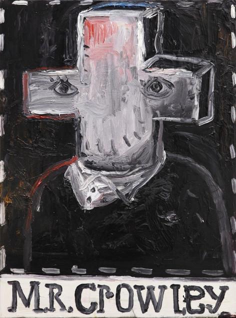 ARMEN ELOYAN Mr. Crowley, 2012 oil on canvas 80 x 60 cm