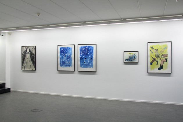installation view Ellen De Meutter
