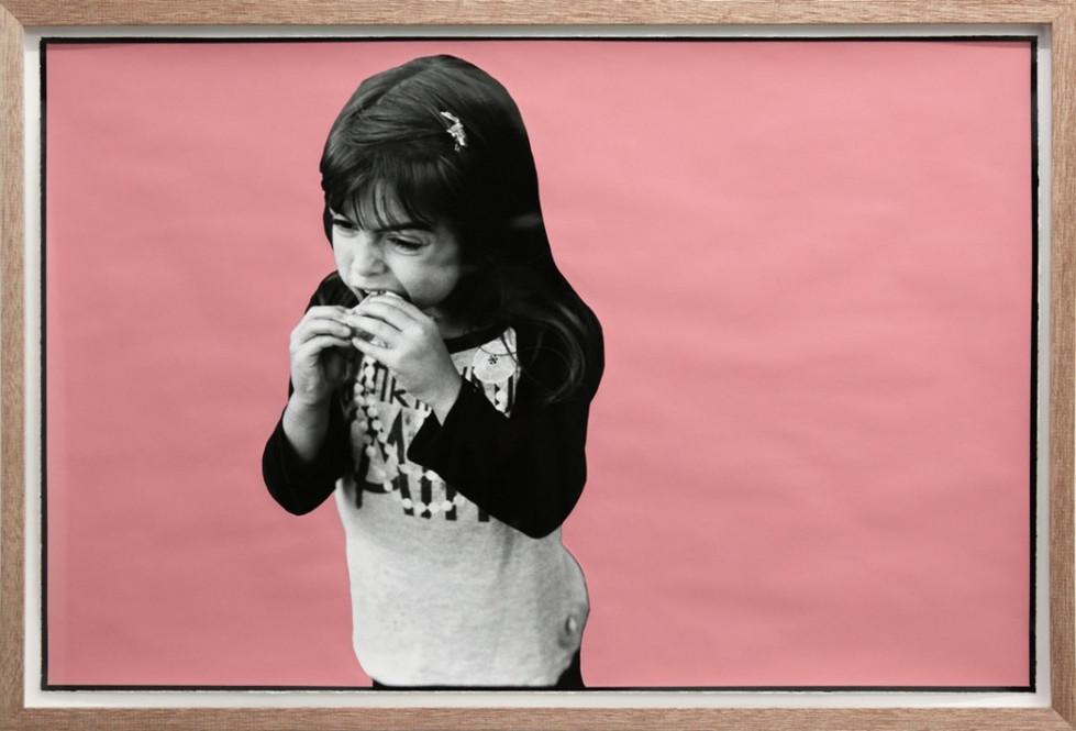 ED TEMPLETON, Girl Eats, Victoria BC, 2013