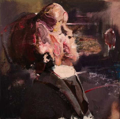 ADRIAN GHENIE The Elephant Man, 2012 oil on canvas 55 x 55 cm