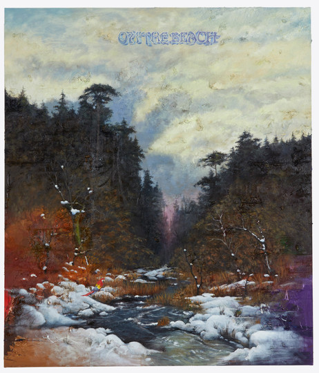 FRIEDRICH KUNATH On The Beach, 2020-2021 oil on canvas 213,5 x 183 cm