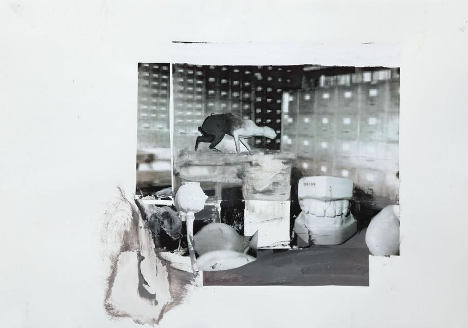 ADRIAN GHENIE, Study for The Kaiser Wilhelm Institute 2, 2011