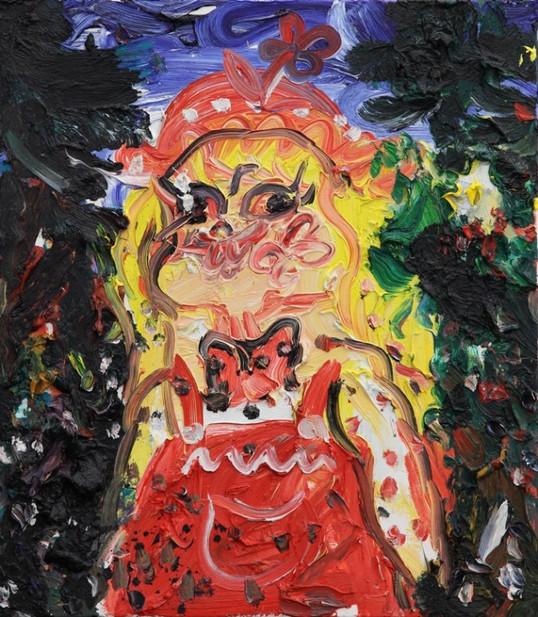 ARMEN ELOYAN, Proposal Painting for Portraitshow II, 2014