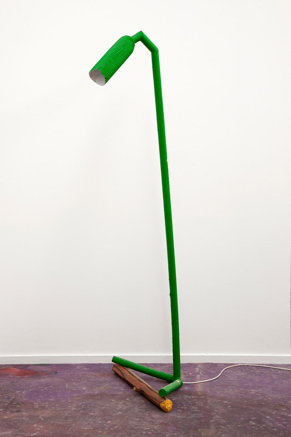 RINUS VAN DE VELDE,  Prop, Studio Robert Rino, Green Lamp, 2017