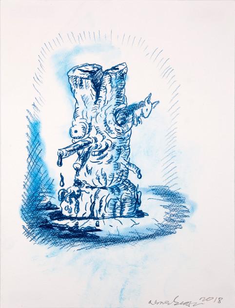 ARMEN ELOYAN, Stump Drawing 3, 2018
