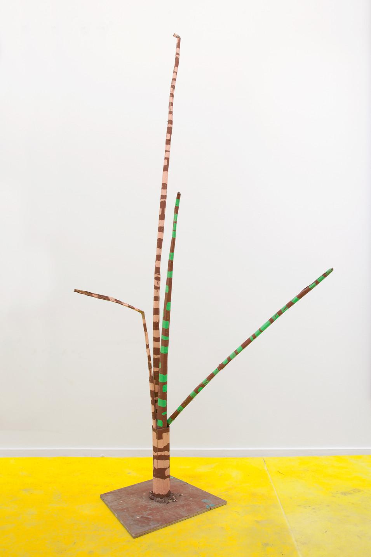 RINUS VAN DE VELDE, Prop, Planecrash, Elegant Tree, 2017