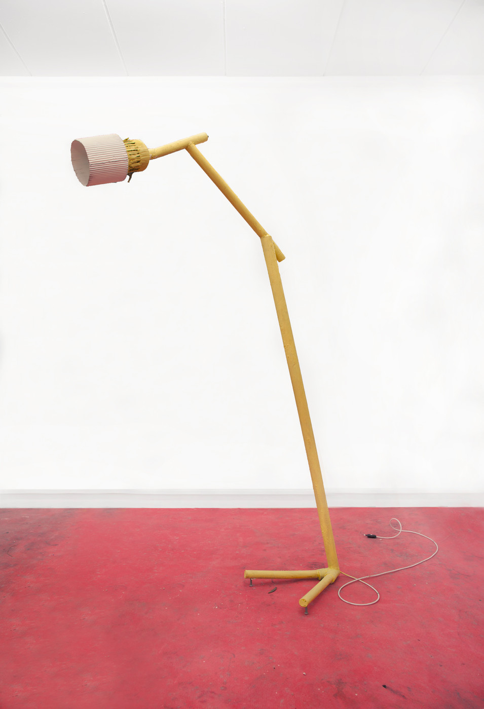 RINUS VAN DE VELDE,  Prop, Studio Robert Rino, Yellow Lamp, 2017