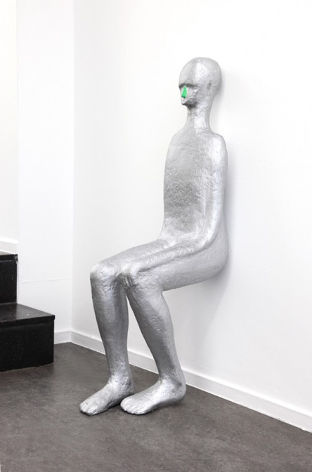 HENK VISCH, At the wall, 2014
