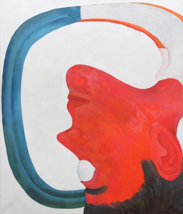 TOMASZ KOWALSKI Bez Tytulu, 2015 acrylic on canvas 140 x 120 cm