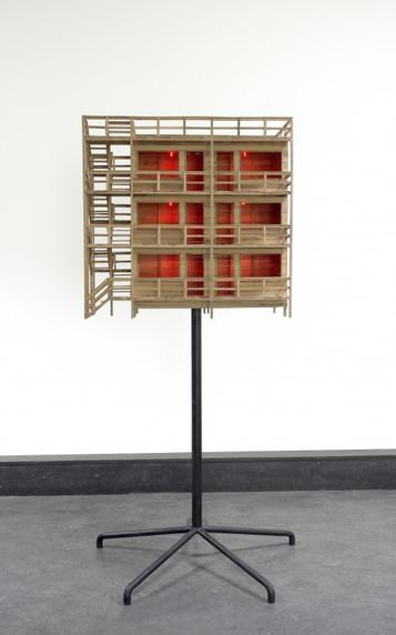 ATELIER  VAN LIESHOUT, Mini Modular Brothel on stand, 2006