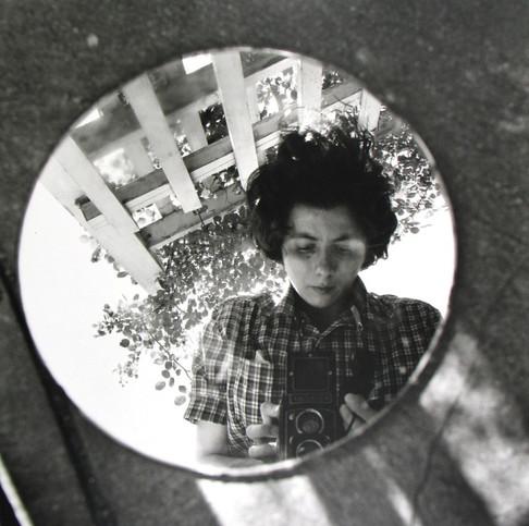 VIVIAN MAIER, Self-Portrait, June 1953