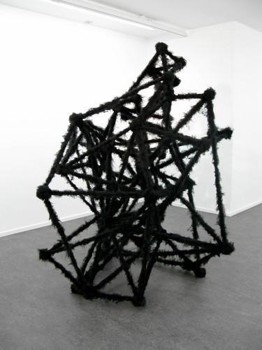 """HENK VISCH: """"Sticks and stones will brake your bones. Clap your hands Nr. 2"""", 2008"""