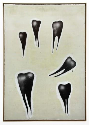 """NORBERT SCHWONTKOWSKI: """"O.T. (Blackteeth)"""", 2008"""