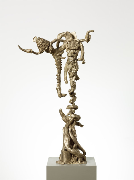 JONATHAN MEESE JOESIELLA (FUNKTION MEESEEGURKE), 2012 bronze 115 x 70 x 40 cm edition of 3 and 1 A.P.