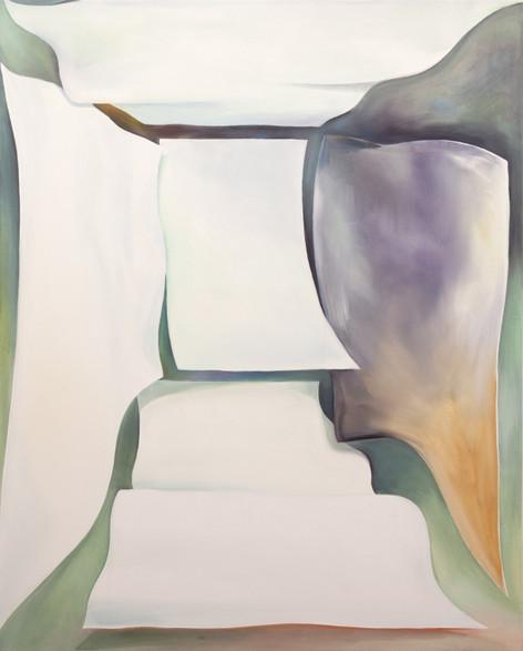 TOMASZ KOWALSKI A Room, 2018 oil on canvas 150 x 120 cm