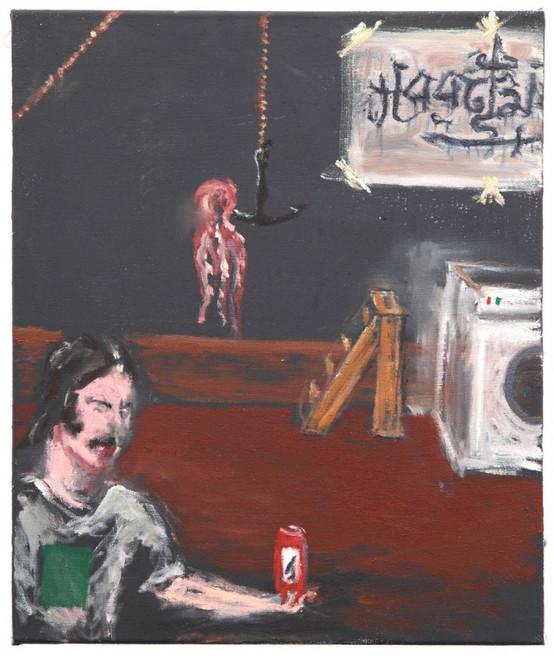AARON VAN ERP, In de kelder bij de inktvis (Graaf Machine), 2014-2015