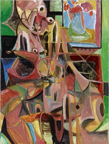 ANTON HENNING, Portrait No. 400, 2014