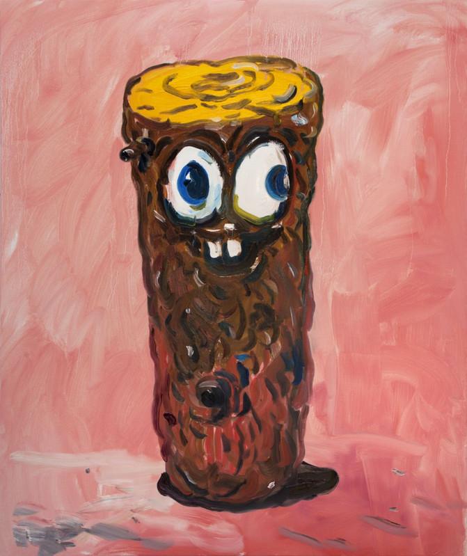 ARMEN ELOYAN Trunk Painting A.T. 1, 2018