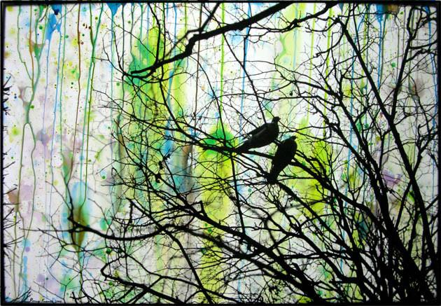 ED TEMPLETON, Birds, Paris, 2008