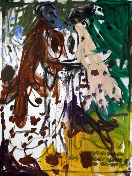 ARMEN ELOYAN Untitled (AR 06), 2018 oil on canvas 240 x 180 cm