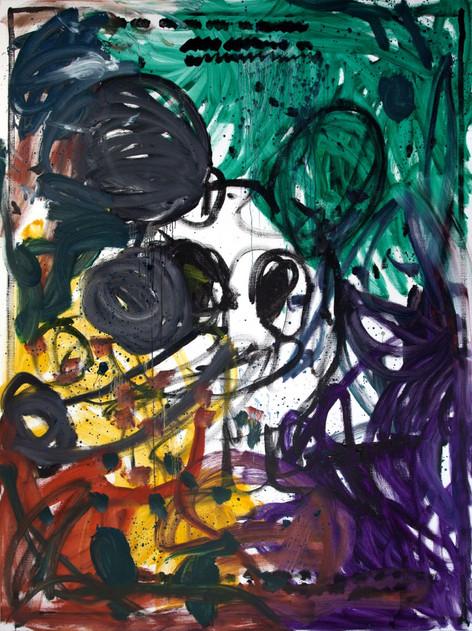 ARMEN ELOYAN Untitled (AR 07), 2018 oil on canvas 240 x 180 cm