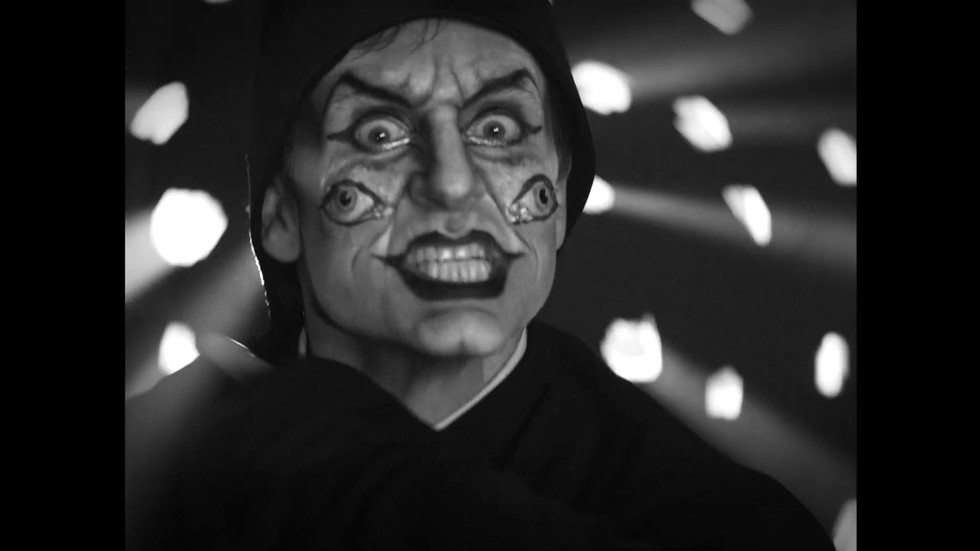 MARCEL DZAMA Une danse des bouffons (or A jester's dance), 2013 video, 35:22 min, black and white, sound 35 minutes 22 seconds edition of 4 and 2 A.P.