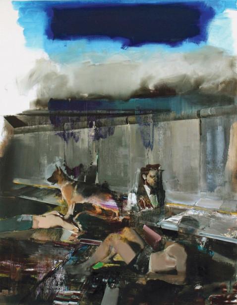 ADRIAN GHENIE, The Blue Rain, 2009