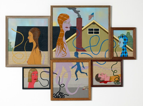 ED TEMPLETON Newland Avenue, 2011 99 x 137 cm acrylic and ink on paper