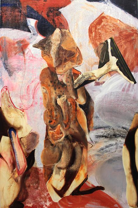 ADRIAN GHENIE The Prophet, 2020 oil on canvas 230 x 150 cm