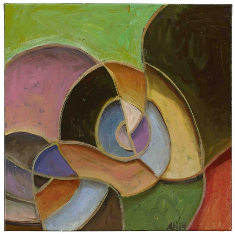 ANTON HENNING, Pin-up No. 180 (L'origine de l'abstraction), 2014