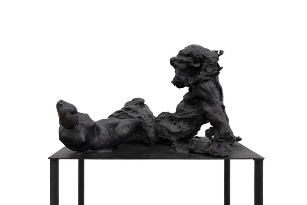 PETER ROGIERS A Place To Wish For, 2020 bronze 105 x 30 x 50 cm