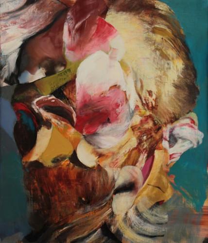 ADRIAN GHENIE Degenerate Art, 2016 oil on canvas 47 x 39 cm
