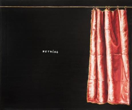 FRIEDRICH KUNATH Nothing, 2017 oil on canvas, 51 x 61 cm