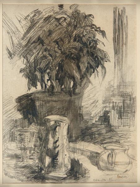 JAMES ENSOR, Untitled, 1886