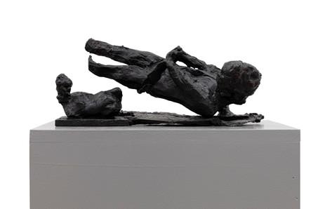 PETER ROGIERS Deserted Islands, 2020 bronze, mdf plinth 152 x 25 x 40 cm