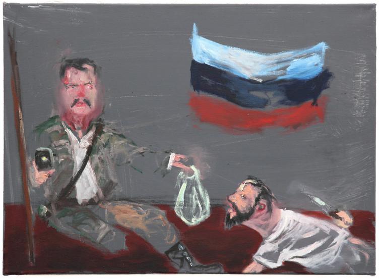 AARON VAN ERP, De laffe aanslag op Igor Strelkov, 2014