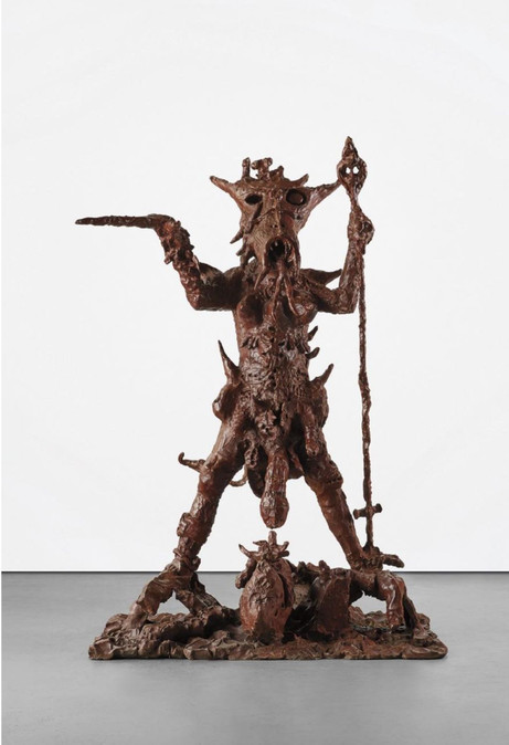 JONATHAN MEESE Mama Johnny (Noel Coward is Back), 2005 bronze 219,7 x 149,9 x 129,5 cm (edition 2/3) edition of 3 and 1 A.P.