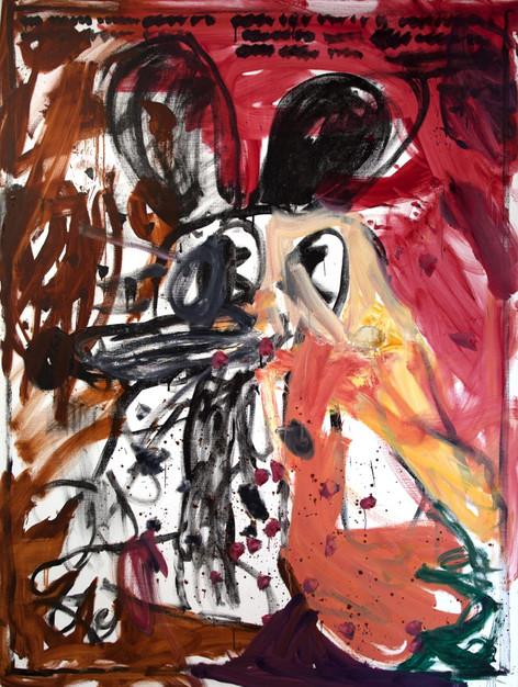 ARMEN ELOYAN Untitled (AR 08), 2018 oil on canvas 240 x 180 cm