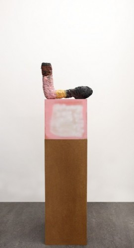 TAL R Elbow, 2010 - 2013 Artist made plinth: 31 x 32 x 32 cm Work x 42 x 7 cm
