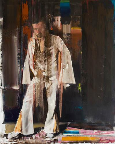 ADRIAN GHENIE Selfportrait, 2009 oil on canvas 200 x 160 cm