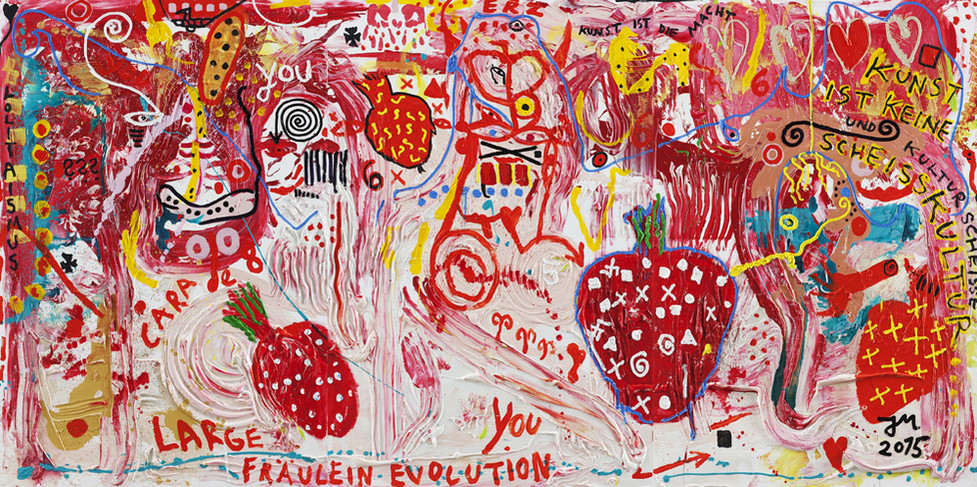 JONATHAN MEESE, DR. STRAWBERRY SCHNÜSS FOREVER DE LARGE, 2015