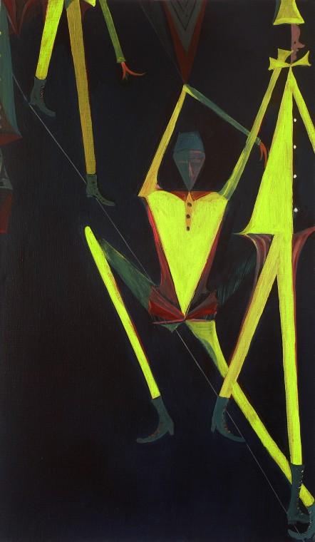 TOMASZ KOWALSKI, How to pass by tightrope walker, 2010
