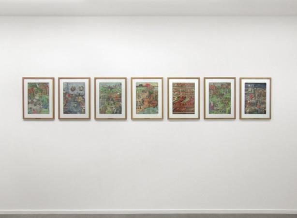 KATI HECK, Vast Werk, 2010-2011