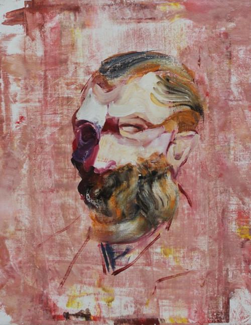 ADRIAN GHENIE, Vincent Van Gogh as an old man, 2014