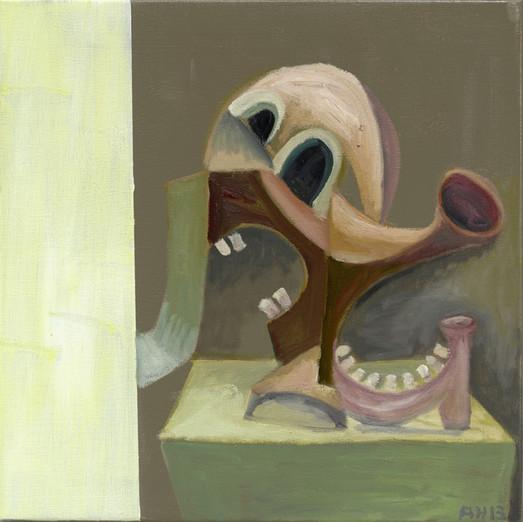 ANTON HENNING, Portrait No. 380, 2013